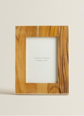 Naturel houten fotolijst